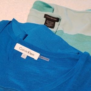 Calvin Klein women's shirts lot of 2 XL XXL